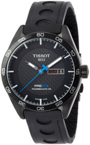 Tissot PRS 516 Powermatic 80 Black Automatic Men Watch T1004303720100