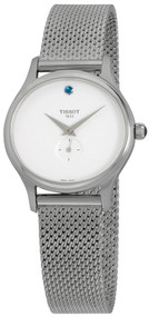Tissot Bella Ora Silver Dial Mesh Steel Women Watch T1033101103100