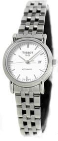Tissot Jungfraubahn White Dial Steel Automatic Women Watch T95118391
