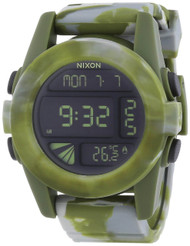 Nixon Unit 44MM Digital LCD Polycarbonate Rubber Men Watch A1971727-00
