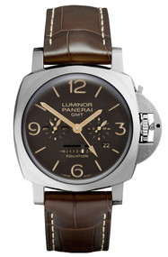 Panerai Luminor 1950 Equation of Time GMT Titanio Men Watch PAM00656