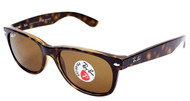Ray-Ban New Wayfarer Classic Brown Tortoise Sunglasses RB2132 902/57