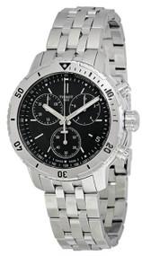 Tissot PRS 200 Chronograph Black Dial Quartz Men Watch T0674171105101