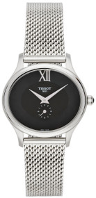Tissot Bella Ora Piccola Black MOP Dial Mesh SS Watch T1033101112300