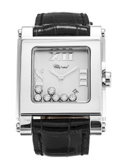 Chopard Happy Sport XL 7 Float DIA Leather Women Watch 27.8495-3001