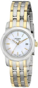 Tissot Dream Mother of Pearl Dial Two Toned Women Watch T0332102211100
