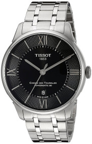 Tissot Chemin Des Tourelles Powermatic 80 Black Watch T0994071105800