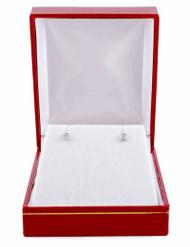 0.19 ct. t.w. Bezel-Set Diamonds Stud Earrings in 14kt White Gold