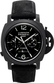 Panerai Luminor 1950 Chrono Monopulsante 8 Days Gmt Men Watch PAM00317