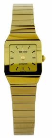 Rado Anatom Diastar 18Kt Yellow Gold Swiss Quartz Women Watch