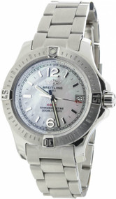 Breitling Colt 33 Mother of Pearl Dial Women Watch A7738811/A770/175A