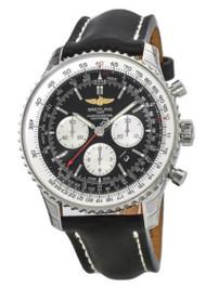 Breitling Navitimer 01 46 Chrono Auto Leather Watch AB012721/BD09/442X