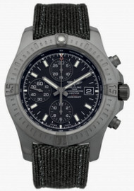 Breitling Colt Chronograph 44 BLK Fabric Band Watch M1338810/BF01/109W