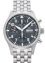 IWC Pilot Chronograph Spitfire Automatic Steel Men Watch IW377719