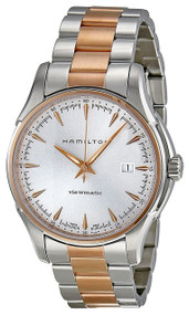 Hamilton Jazzmaster Viewmatic Rose Gold PVD Auto Men Watch H32655191