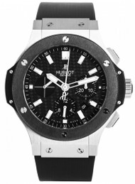Hublot Big Bang Chrono Carbon Fiber Dial Rubber Watch 301.SM.1770.RX