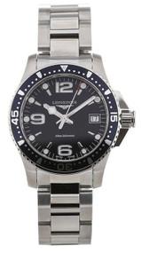 Longines HydroConquest 34mm Diving SS Watch L33404966 / L3.340.4.96.6