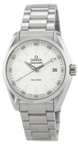 Omega Aqua Terra 150M Quartz 38 Silver Dial Watch 231.10.39.60.02.001