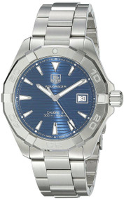 Tag Heuer Aquaracer Calibre 5 Blue Dial Auto SS Watch WAY2112.BA0928