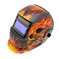 Tweco Auto Darkening Helmet - Flames (4100-1004)