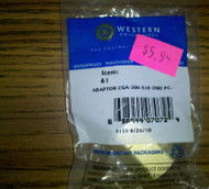 Western Enterprises WE-61 Adaptor CGA-300-510