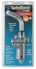 TurboTorch TX-504 Self Lighting Hand Torch Propane/MAPP (0386-1293)
