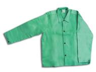 """John Tillman 30"""" Green Welding Jacket (6230WC)"""