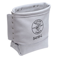 Klein Tools Leather Bull-Pin and Bolt Bag 5416L