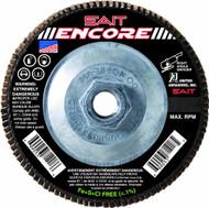 """SAIT 79111 Encore Flap Disc (4-1/2"""" x 5/8-11 x 120 grit)"""