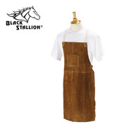 "Black Stallion 36"" Split Cowhide Bib Apron (36A)"