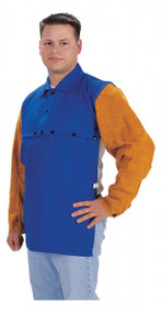Tillman Blue Cape w/Leather Sleeves - Large (9221)