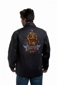 Tillman Backbone of America ONYX Black FR Cotton Welding Jacket (9061)