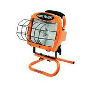 Coleman 500W Orange Portable Halogen Work Light (L33)