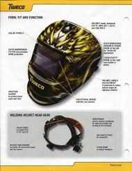 Tweco Auto Darkening Helmet - Dragon (4100-1008)