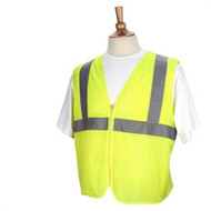 Revco Hi-Vis Standard Mesh Safety Vest w/Reflectives, 3XL (SVY205)
