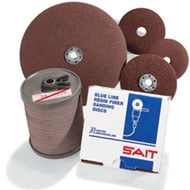 "United Abrasives 2A 4-1/2"" x 7/8"" x 36 grit Fibre Disc Metal (51036)"