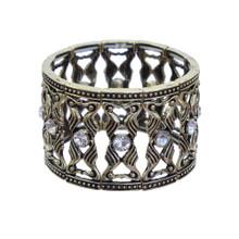 Hourglass Diamond Studs Bracelet