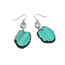 Stone Earrings (Turquoise)