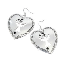 Heart Angel Earrings