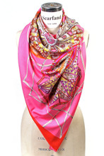 "55"" Beautiful Vintage (Design 1) Big Square Scarf"