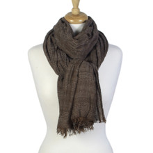 Winter Sheer Acrylic Lightweight Scarf