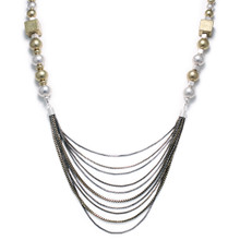 Multi-Strand with Mix Bead Necklace