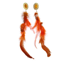 Phoenix Feather Earring