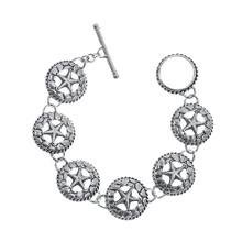 Silver Star Chain Bracelet