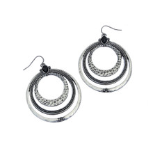 Triple-Circle Earrings