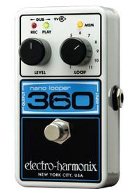 Electro-Harmonix 360 NANO LOOPER Compact Looper  9.6DC-200 PSU Included