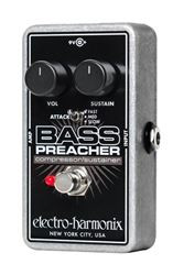 Electro-Harmonix NEW BASS PREACHER Bass Compressor/Sustainer