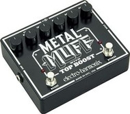 Electro-Harmonix METAL MUFF Distortion with Top Boost  Battery included, 9.6DC-200 PSU optional