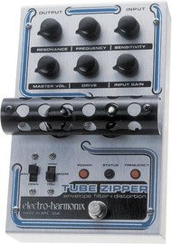 Electro-Harmonix TUBE ZIPPER Envelope Filter/Distortion   12AC-1000 PSU included