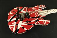 EVH Striped Series Red with Black Stripes (931)